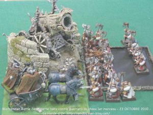 05 Warhammer Battle 2ème partie nains contre guerriers du