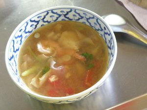 Chiangmay stage cuisine soupe