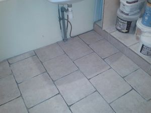 Carrelage a bords irr guliers www for Accrocheur carrelage