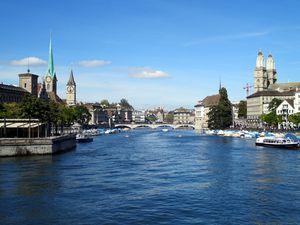 Zürich et la Limat
