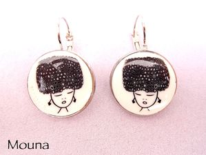 Boucles Russian girl 2 DISPONIBLE: 15 euros.