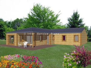 Plans de Maisons contemporaines en Bois -
