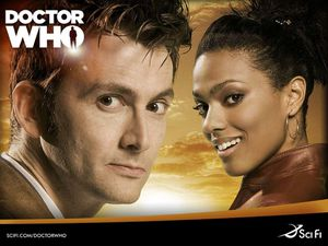 Doctor Who (BBC TV Series), 2005, David Tennant, Freema Agy