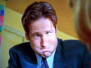 X files - Grimace de Mulder - Le carnet de Jimidi