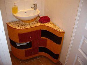 meuble sous vasque (création originale)