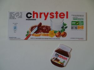 Magnets Nutella