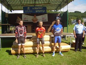 podium chp france vtt 2012