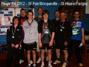 L 39 quipe 2 championne de basse normandie de r4 saint - Ligue de basse normandie de tennis de table ...