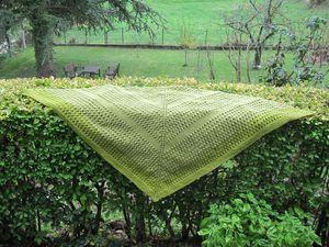 shawl vert 2