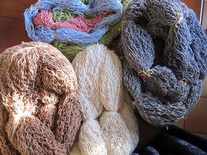 laine détricotée 2