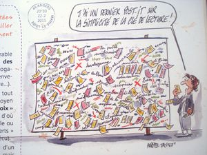 Philippe Tastet, Culture, Angers, Séance Post-it