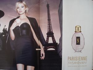 Tour Eiffel, Parisienne, parfum Yves Saint-Laurent