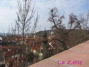 Prague : en montant au château