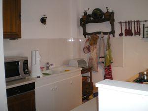 cuisine coté évier et lave vaisselle