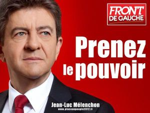 Affiche Melenchon 2012 - 2