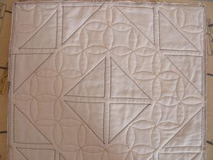 quilting coussin
