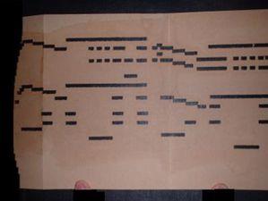 carton perfo orgue de B