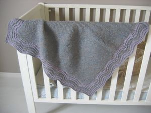 couverture tweed blanket