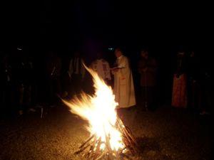 Le feu pascal Sidi Bel Abb+¿s
