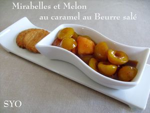Mirabelles-melon-caramel beurre sale-Mamigoz