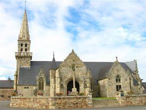 Plusquellec - Eglise Notre Dame de Graces b