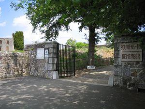 Oradour-sur-Glane-Entrance
