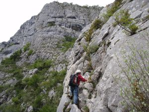 Via ferrata (Roche veyrand) 3