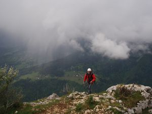 Via ferrata (Roche veyrand) 11