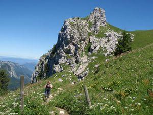 Mont Trélod (voie normale) en famille 7