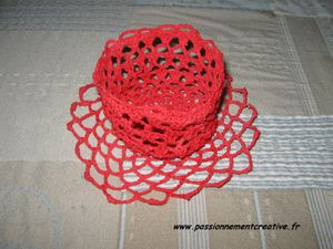 Corbeille rouge