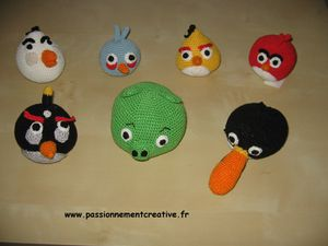 les petits angry birds