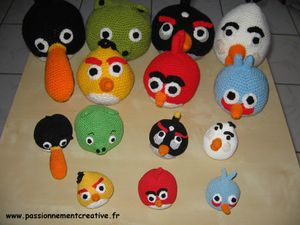 tous les angry birds