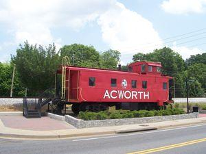 Caboose Acworth