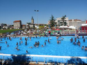 Clamart plage 2012 un t torride le blog de laurent for Clamart piscine