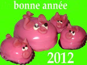 cochons - voeux 2012
