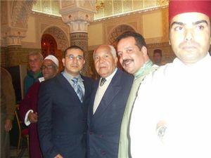 Anas elmalhouni et son pére abderrahmane & abderrahim & le