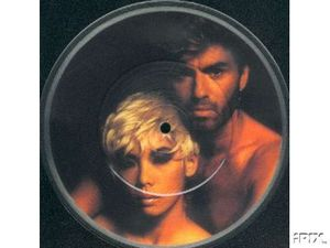 7 picture disc bootleg George with Kathy-copie-1
