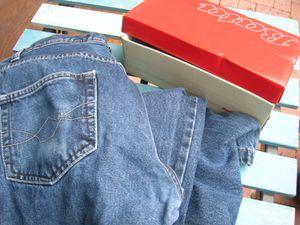 Que faire avec une boite a chaussure maison design - Que faire avec un vieux jean ...
