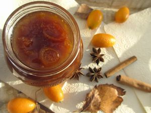 Confiture de kumquats aux pices de No l 25