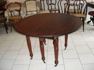 table en acajou
