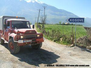 20100501 ALBANIE VOYAGE JP BABOLAT ET DELAVILLE ALM ACMAT