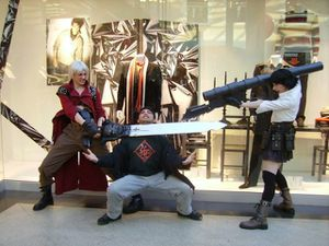 Cosplay Devil May Cry 3 - Isabelle & Damien