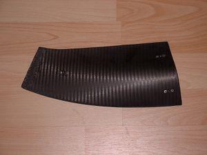 Sabot fond plat AP04 (Vue de dessus)