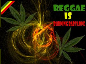 reggae is burning