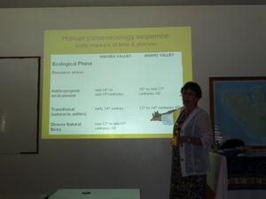 Tahiti-Symposium Paleo-Neo Ecology -29 nov-01 dec 2011-Meli