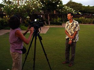 Big Island Video News interview JY Meyer Sept 2011 (C. Mart