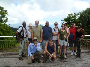 Team Guadeloupe oct 2014