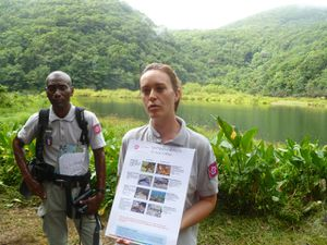agents Parc National Guadeloupe oct 2014 (Flora Pelegrin)