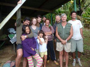Tahiti-Piton Pirae-14-15 juillet-2011-team & JYM