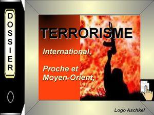 terrorisme Proche et Moyen Orient